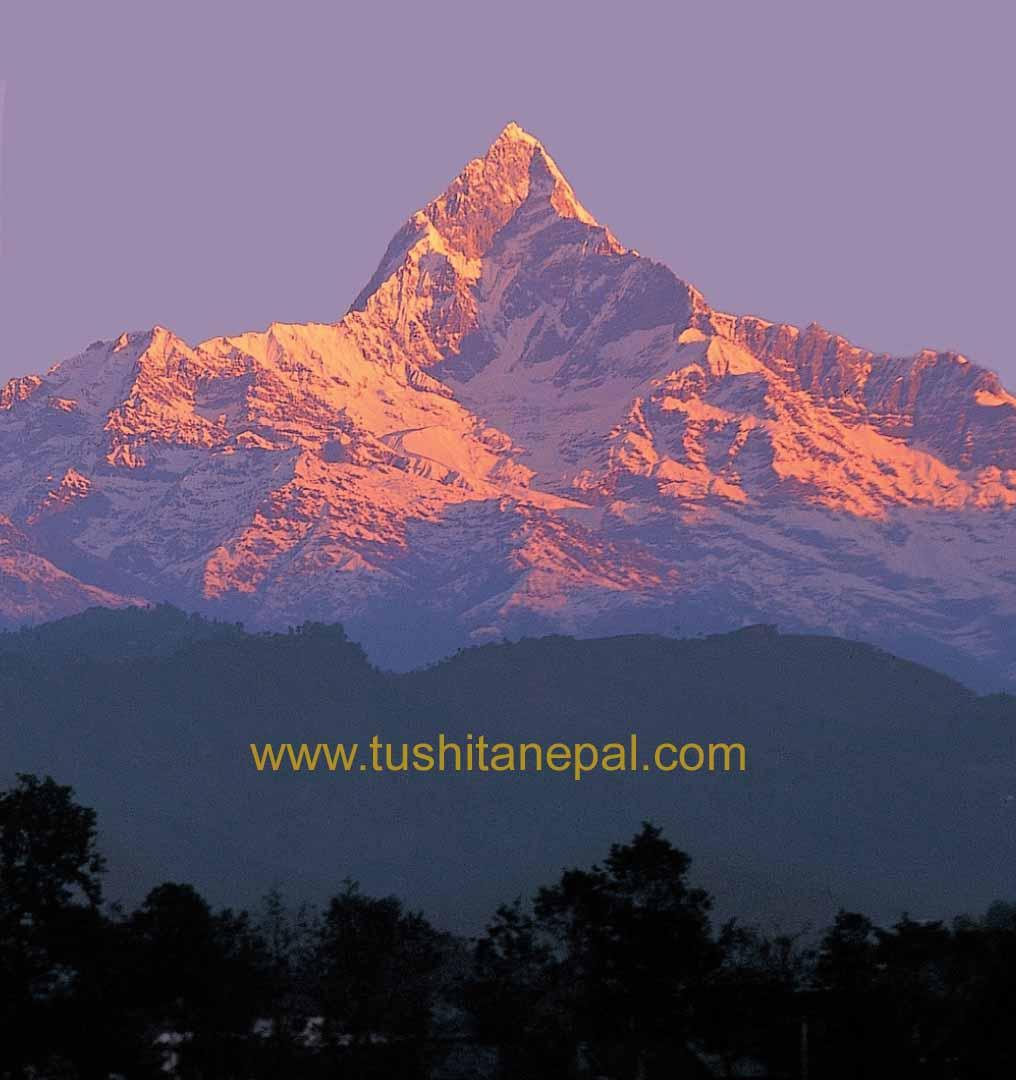 View seen from Tushita-Nepal