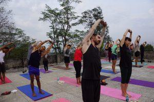 beautiful morning with yoga class.JPG