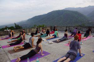 yoga practice in Rishikesh.JPG
